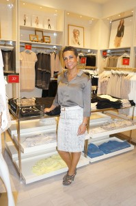 Cibella B – Mother of 3 at Ann Taylor event