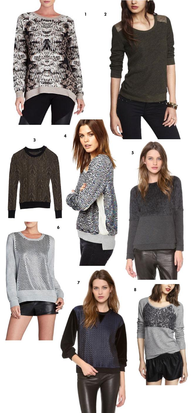 Glam Sweatshirts // MSL