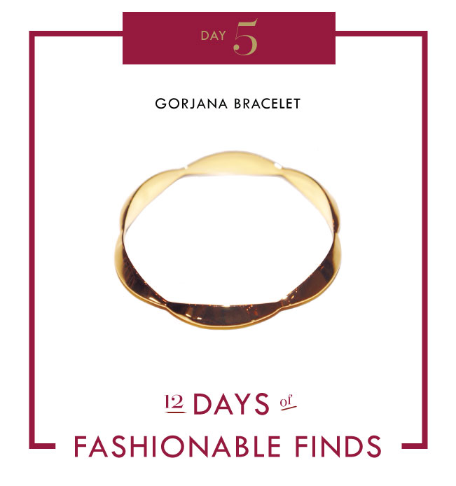 GORJANA BRACELET // 12 Days of Fashionable Finds