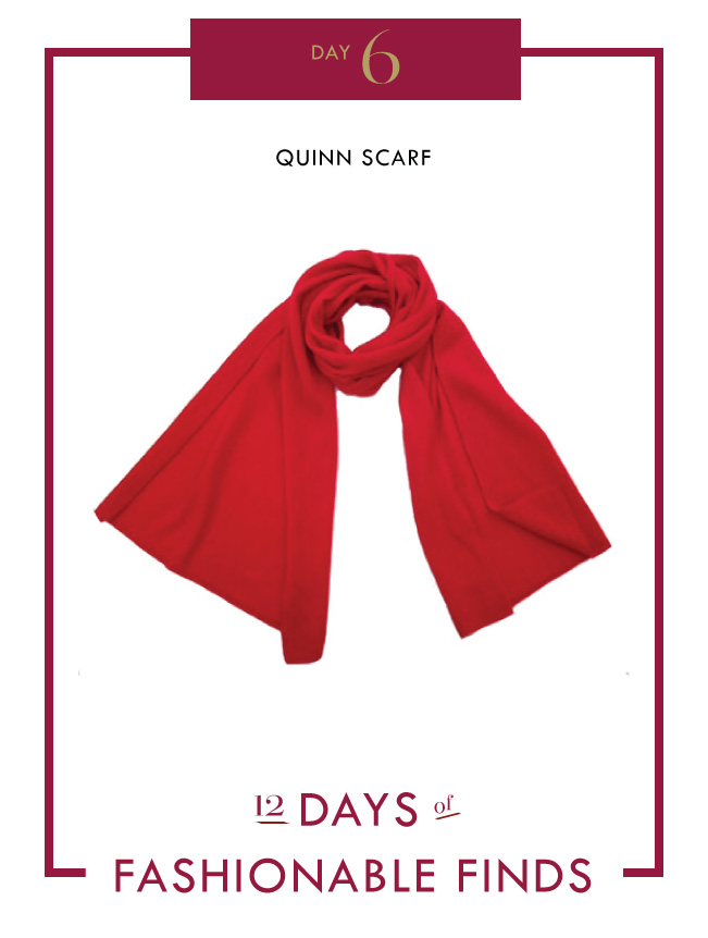 Day 6 - Quinn Scarf / Mom Style Lab