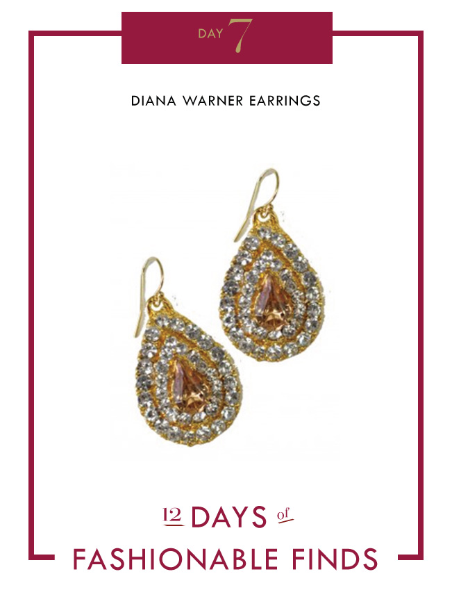 Diana Warner Earrings // Mom Syle Lab