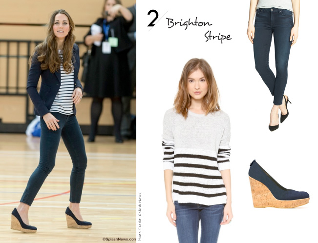 Kate Middleton Inspired Looks / The Brighton Stripe
