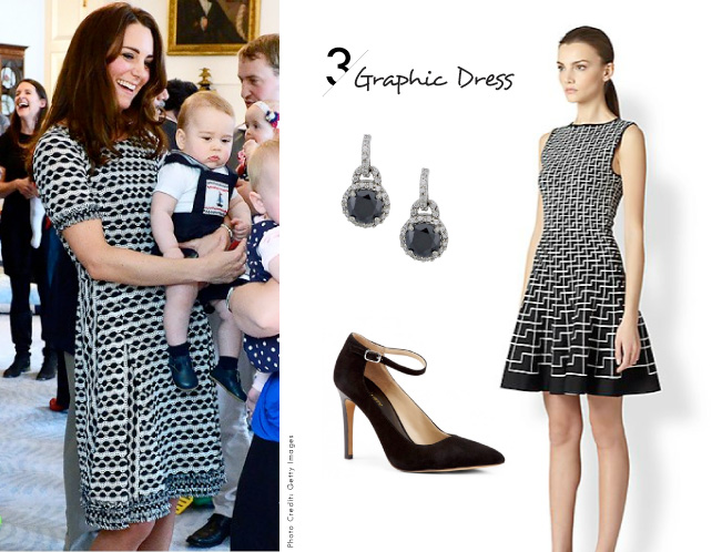 Kate Middleton Inspired Looks / The Graphic Dress