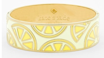 Kate Spade Lemon Bangle