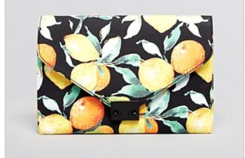 loeffler randall citrus clutch