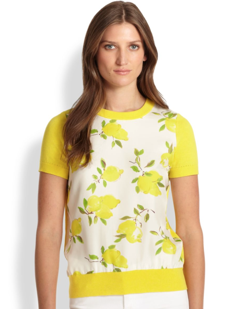 Kate Spade Lemon Sweater