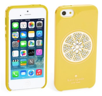 Kate Spade Lemon iPhone Case