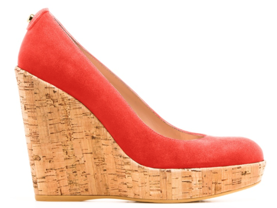 Stuart Weitzman Custom Corkswoon Wedges