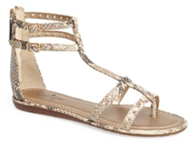 kate spade new york gladiator sandal