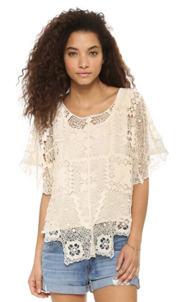 Free People Bad Romance Top