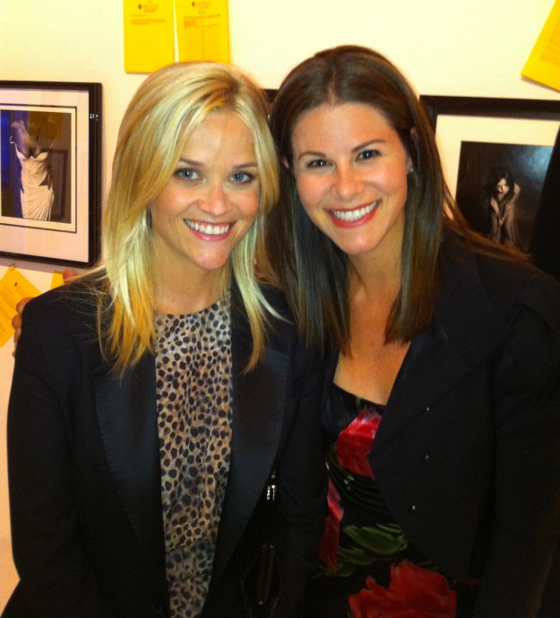 Melissa Plaskoff and Reese Witherspoon