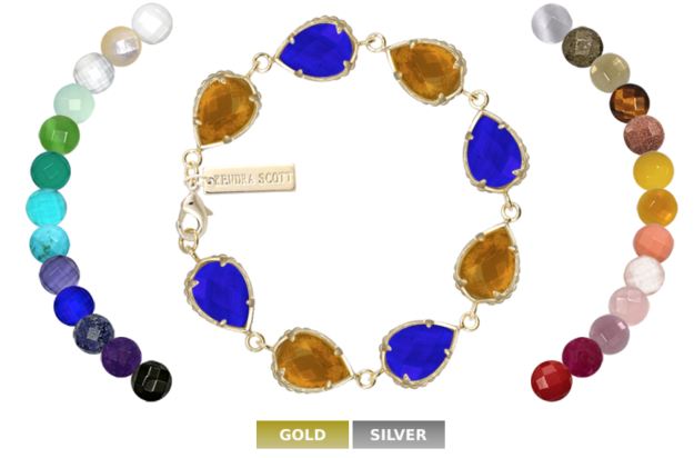 Custom bracelet Color Bar at Kendra Scott