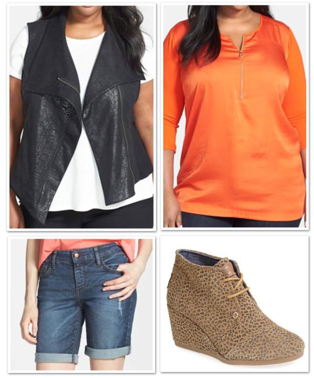 plus size vest outfit_0