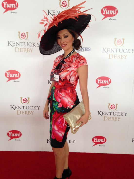 Shannon Cogan at Kentucky Derby