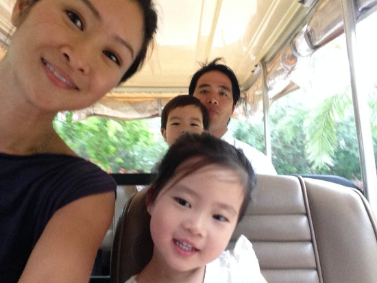 Jennie Kwon and kids