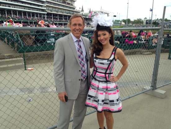 Oaks Day with Co-Anchor