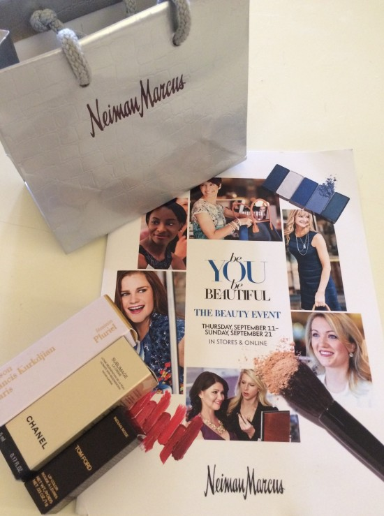 Neiman Marcus Beauty Event Sept 20