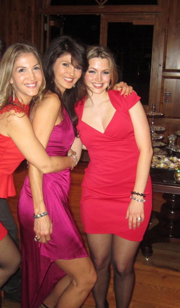 Caroline, me and Gina