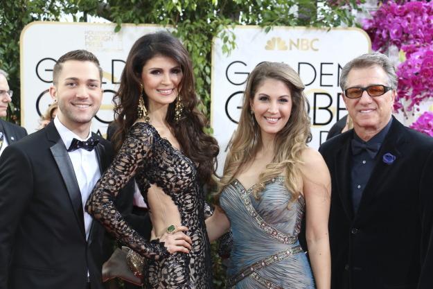Family Golden Globes 2014 photo Victoria Sheafino JPG