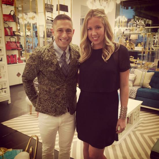 Jonathan Adler and Jan Bracamonte