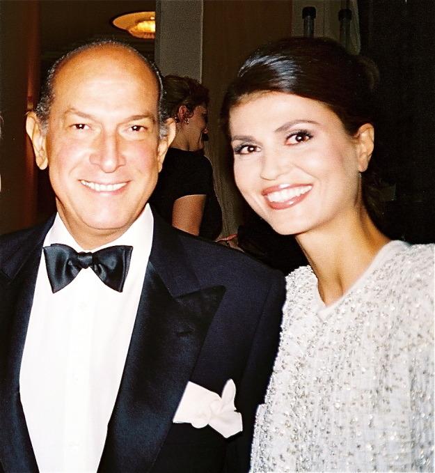 With Oscar de La Renta