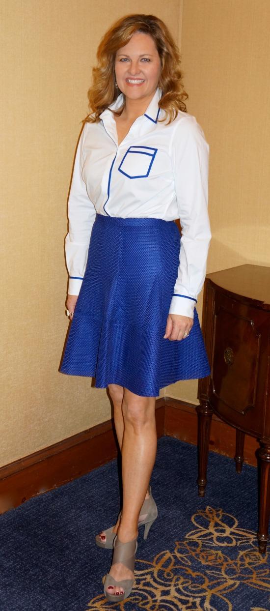 Angela Keller Pink Tartan Spring 2015