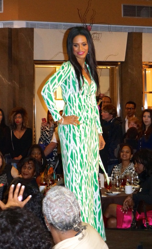 Sherice Brown Off the Field fashion show 2015