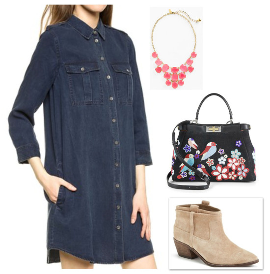 denim dress_0