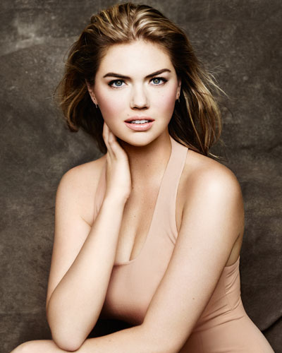 kate upton neutral makeup BB