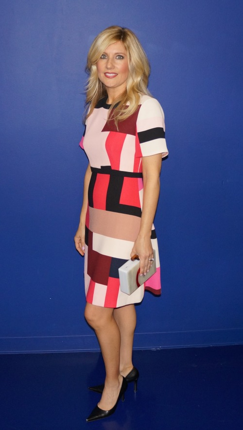 Karen Ingram on Arizona Midday spring print fashion Kate Spade