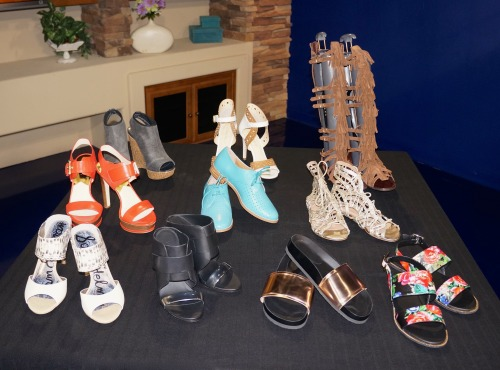 spring 2015 shoe trends Arizona Midday