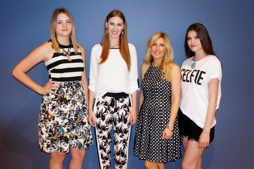 black & white fashion trend for spring 2015 from Dillards