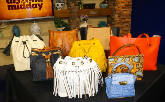 spring 2015 handbag trends from Dillards