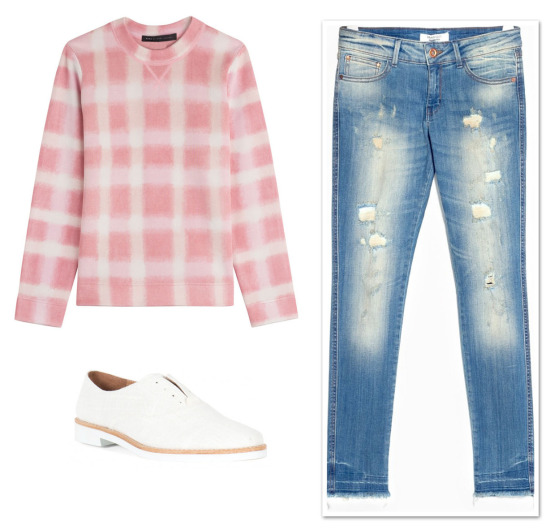 Marc Jacobs gingham top_0