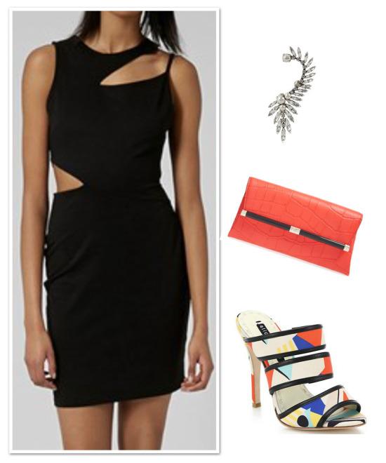 SMOCA cutout dress_0