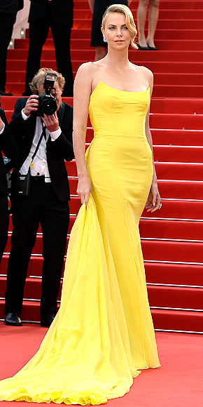 charlize-theron-2 cannes yellow