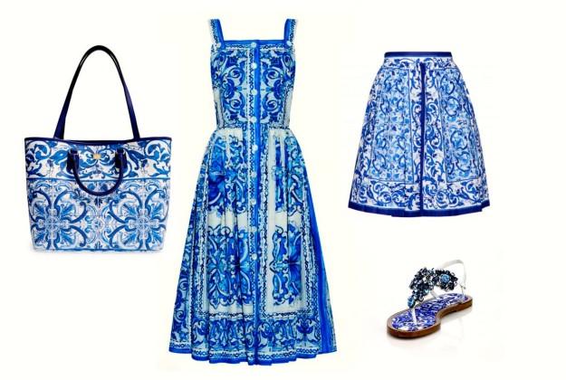 Dolce&Gabbana mosaic tile print_0