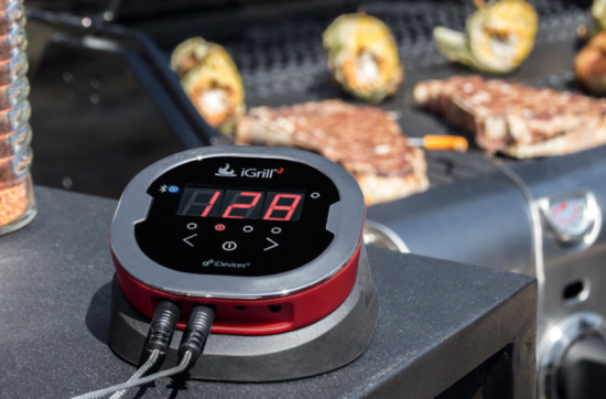 iGrill bluetooth thermometer brookstone