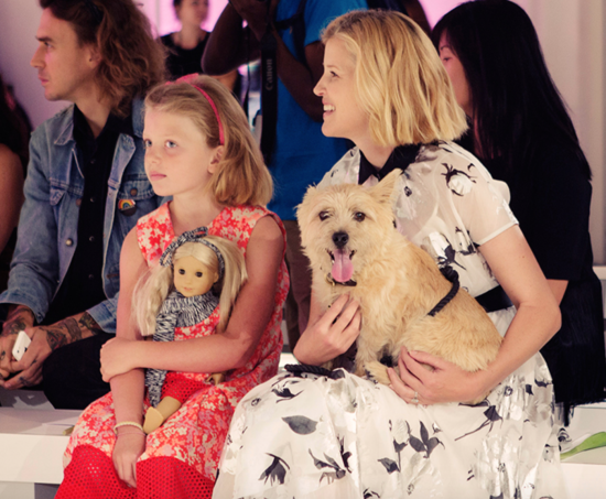 lela-rose-and-daughter-posey-NYFW-fall-2015
